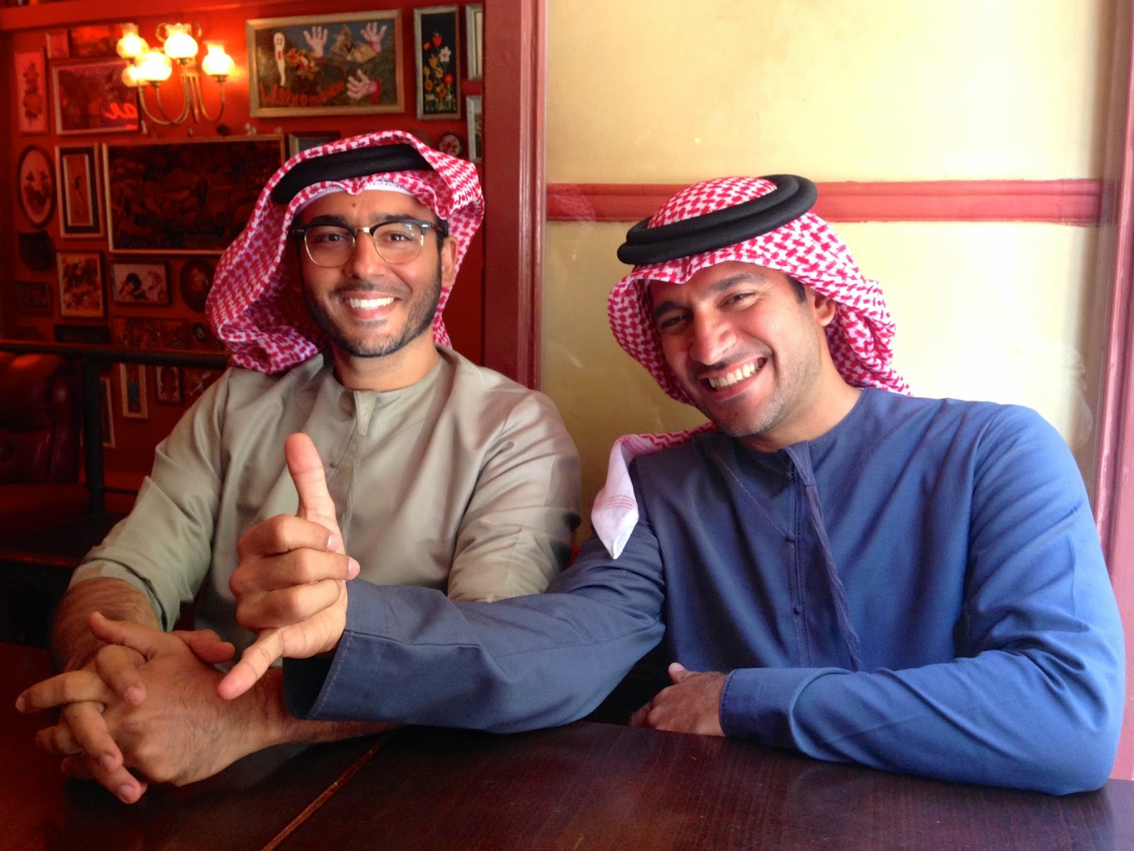 Mohamed and Peyman Parham Al Awadhi