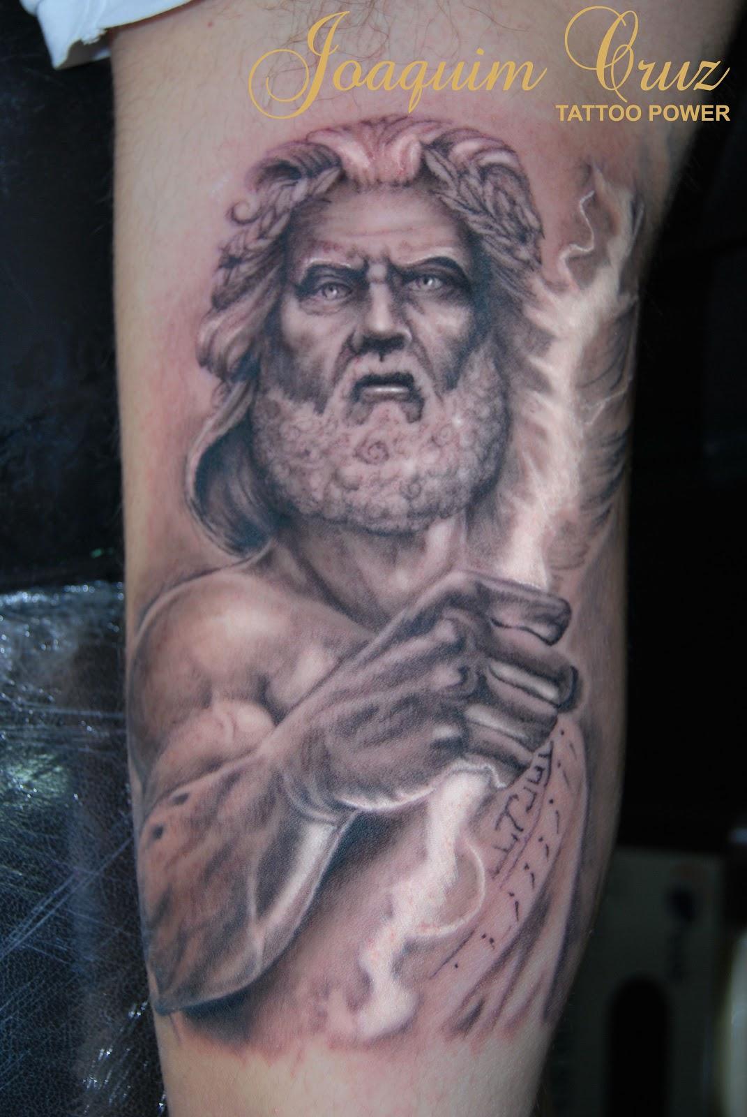 Тату по греческим мифам
