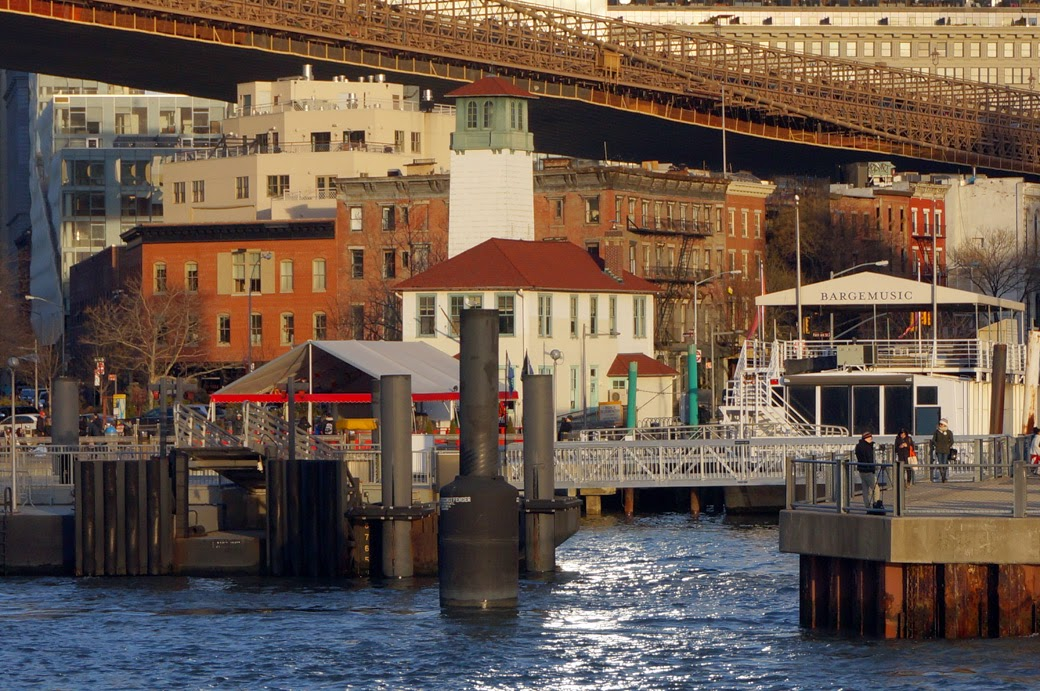 Fireboat House - Brooklyn Ice Cream Factory from East River Ferry