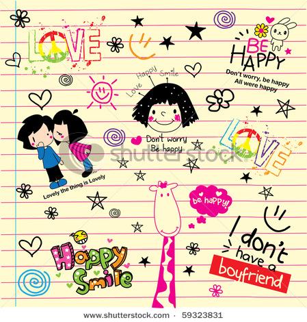 Doodles, Curi Doodles, Doodles Cute, Doodle Comel, Pencuri Cyber, Pencuri Internet, Doodles Tumblr, Doodle Blog