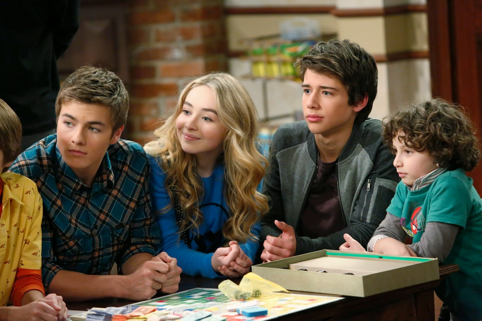 girl meets game night cast Disney's girl meets world cast recreates the popular intro from the later seasons of boy meets world late night television more game of thrones.