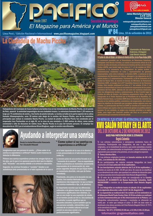Revista Pacífico Nº 84 Arqueología