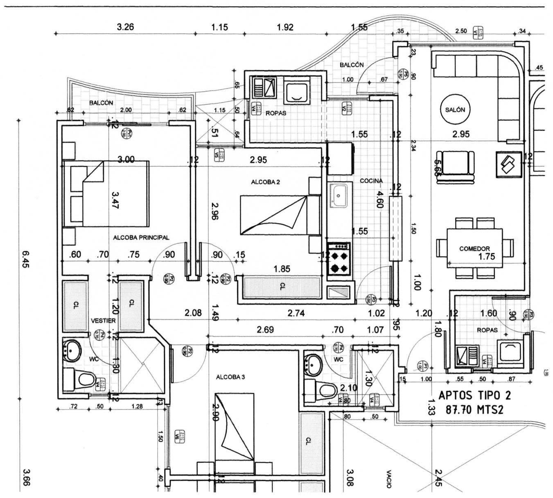 Ciencias de 9 imformatica for Ejes arquitectonicos