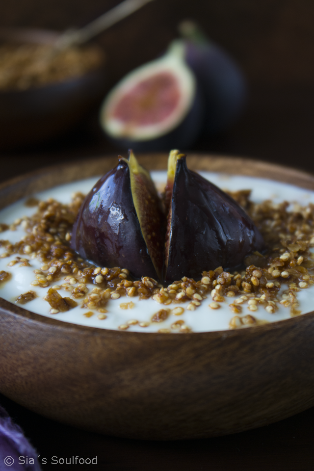 Quinoa-Knuspermüsli