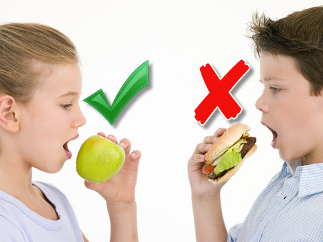 essay on changing food habits among children