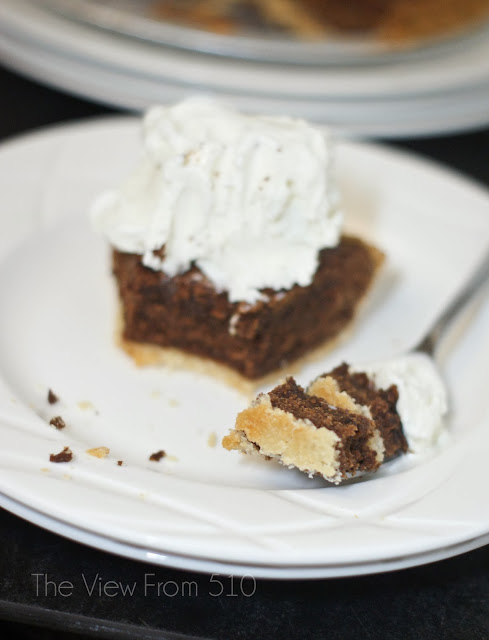 The Best Chocolate Fudge Pie #Recipe