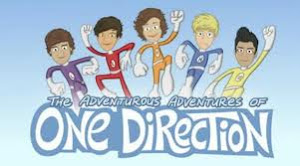 One Direction hasta en dibujos animados :D