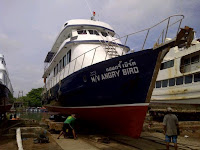 MV Angry Bird, dive boat