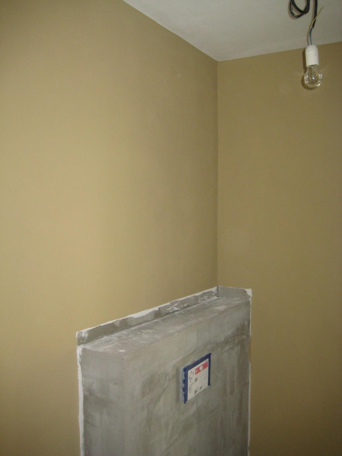 Ons nieuwbouw huis in podhorany po alles in kleur - Kleur muur wc ...