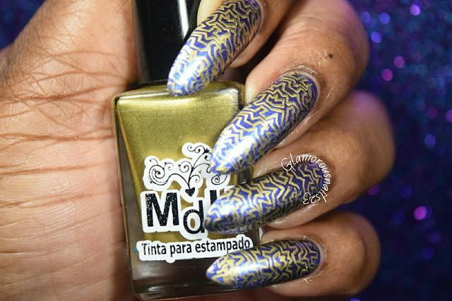 "Mundo De Unas Stamping Polish ""Gold"""