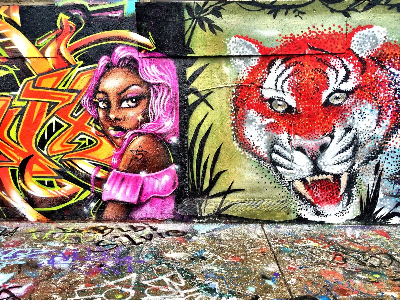 Long Island City Graffiti Mecca 5 POINTZ NYC The Day Before It Was Whitewashed