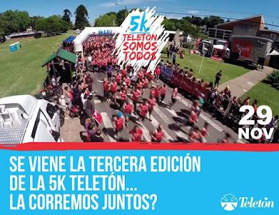 5k Teletón (Montevideo, 29/nov/2015)