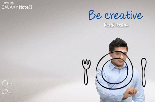 Step #1: Choose your artists, I chose Razif Hashim here