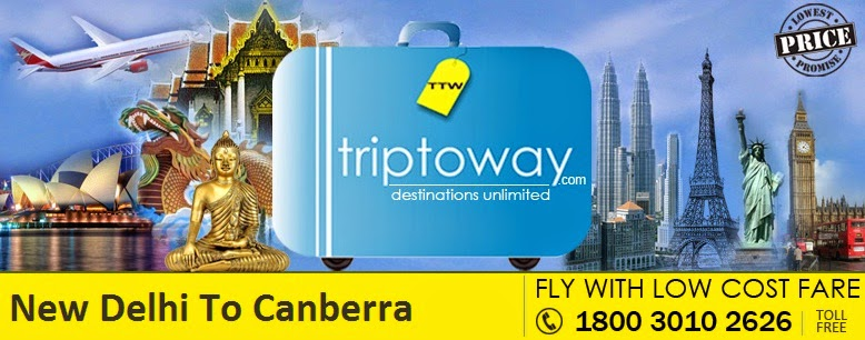 New Delhi To Canberra Flights