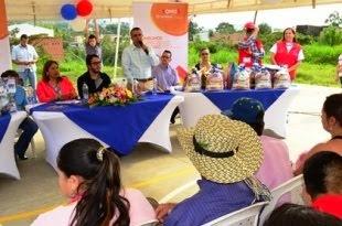 REUBICADAS 23 FAMILIAS A MILLENIUM DOSQUEBRADAS