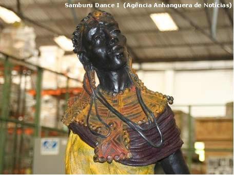 Samburu Dance I  (Agência Anhanguera de Notícias)