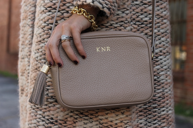 Personalized Leather Handbag