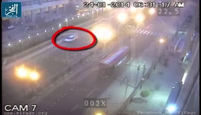 Video detik-detik bom jantung kota Kairo - elfagr