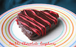 Double Chocolate Raspberry brownie