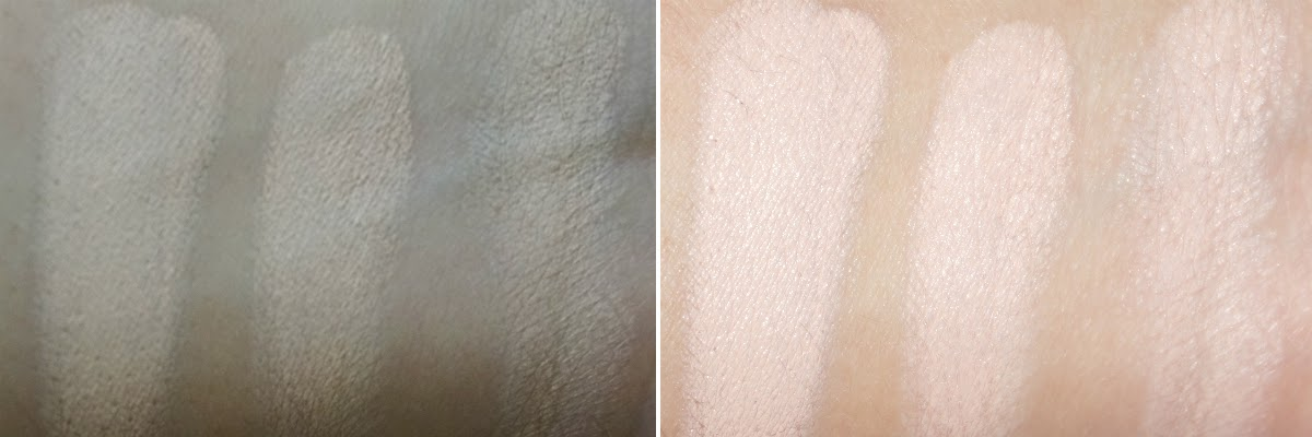 Naturactor Cover Face Concealer (L) No Flash, (R) With Flash