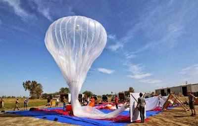Balões de internet do Google devem estar ativos em 2015