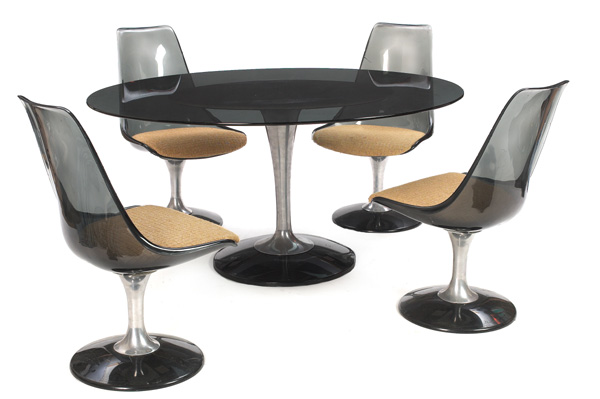 Chromcraft Dining Set From Palm Beach