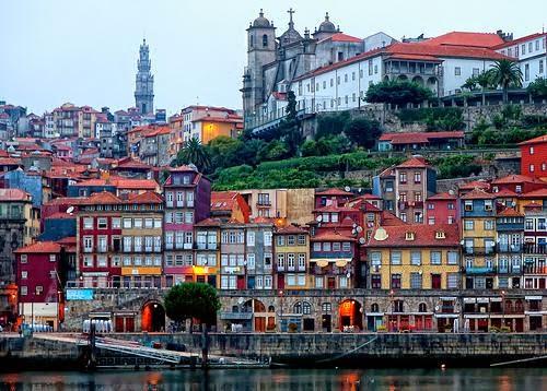 Fin de semana en Oporto. Barrio de Ribeira