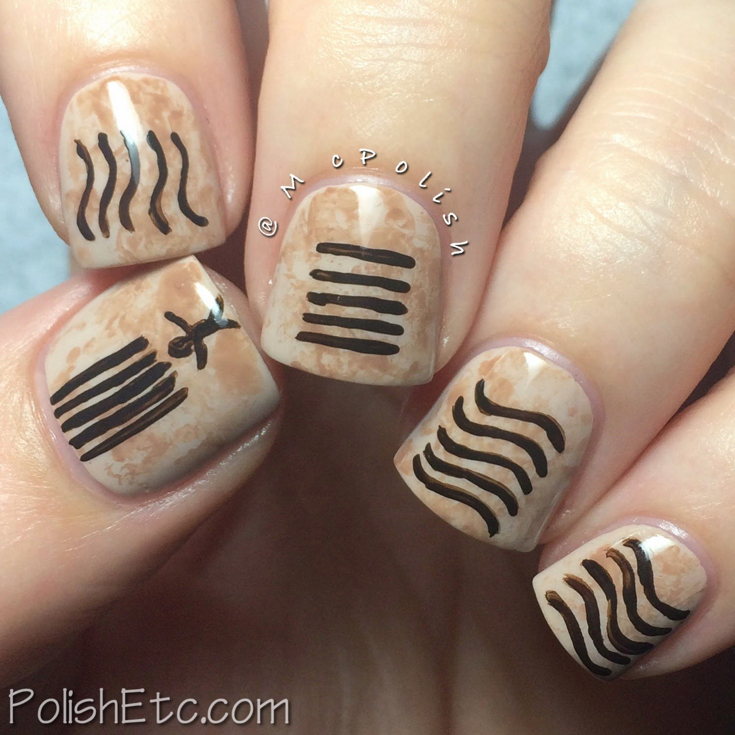 31 Day Nail Art Challenge -#31dc2014 - McPolish - MOVIE
