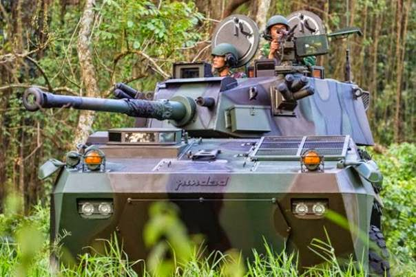 Panser Badak Produk PT. Pindad