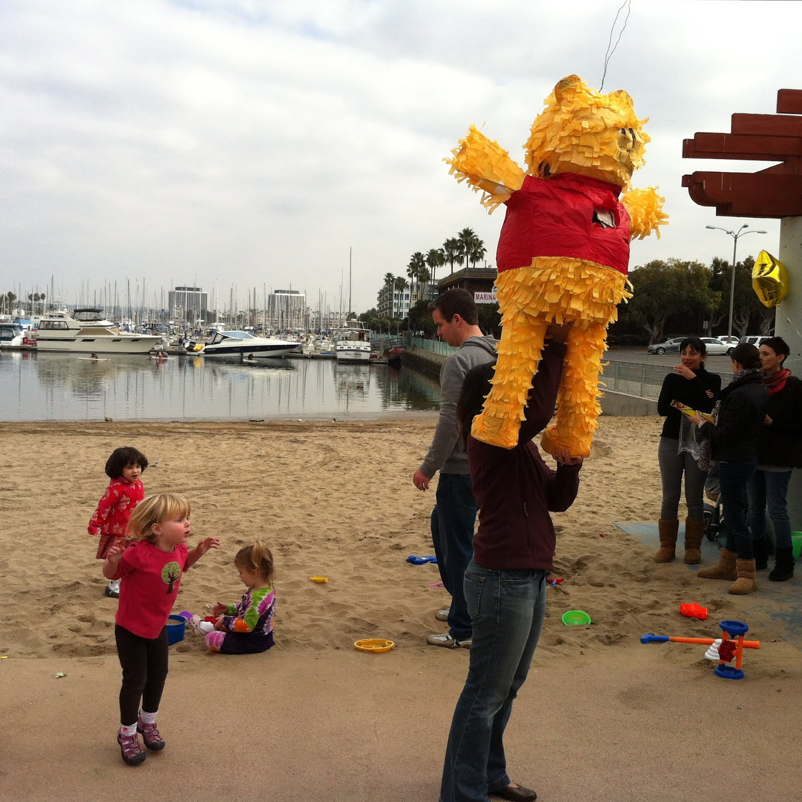 Smart Bohemian Baby Pooh at the Marina
