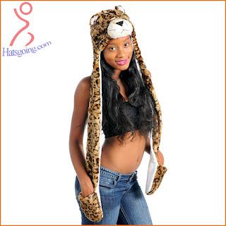 tiger animal hats