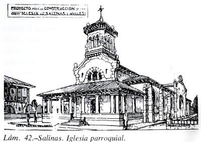 Proyecto de la iglesia de Salinas