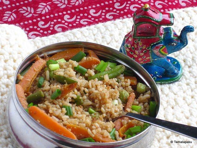 Thai Peanut Sauce With Rice