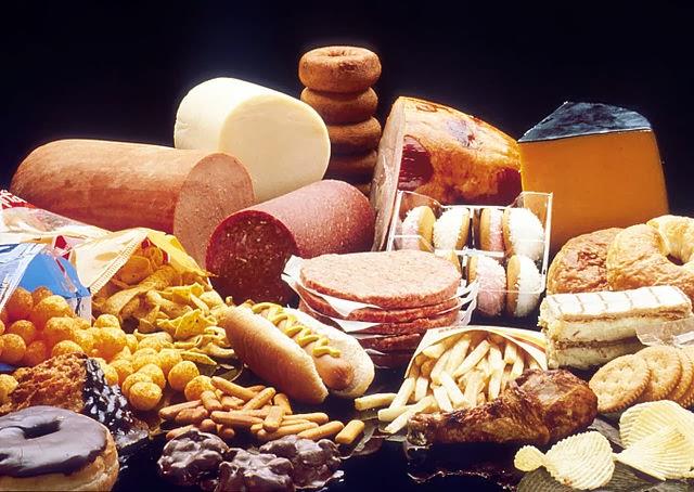 adelgazar dietas comida basura plan calorias