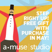 HAPPY BIRTHDAY A•MUSE|STUDIO