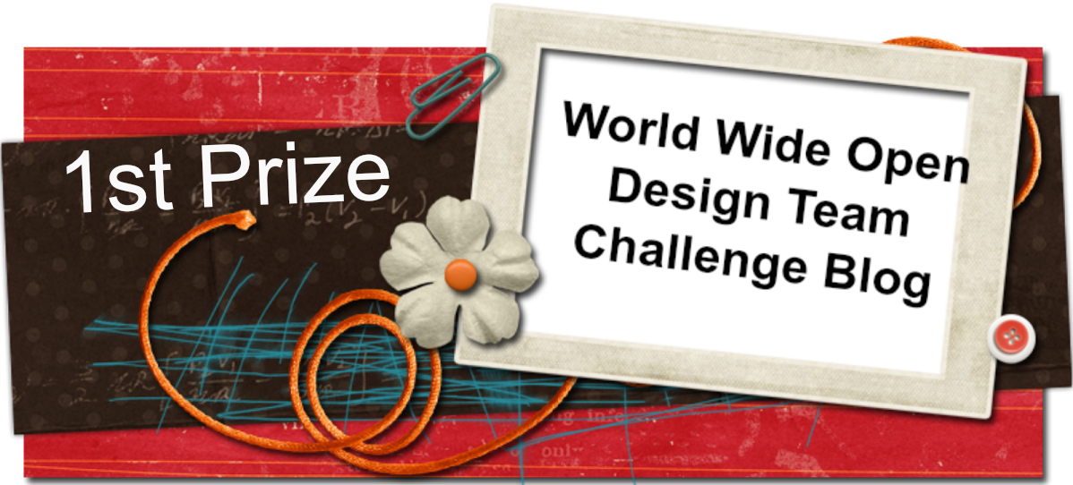 World Wide Open Design Team Challenge 1st Place Winner November 2015