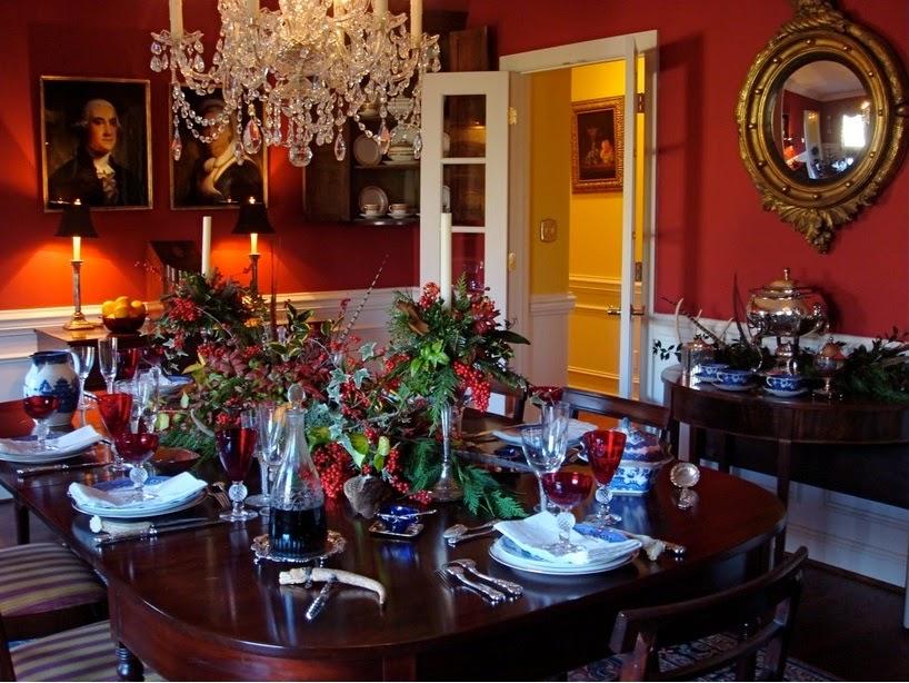 Noiva com classe 45 arranjos de mesa de natal festa e for Beautiful dining room ideas