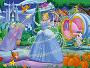 Agora um papel de parede do filme Cinderela. Com aquele encantador momento .