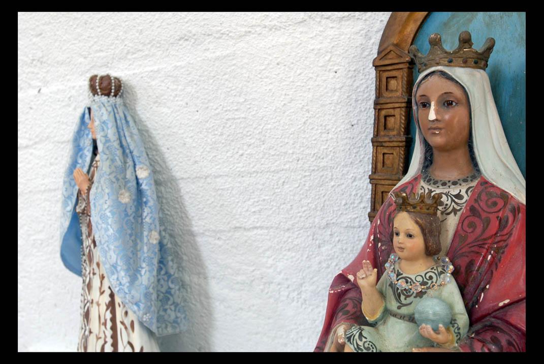 mujeres encueradas de santacrus del valle donostia
