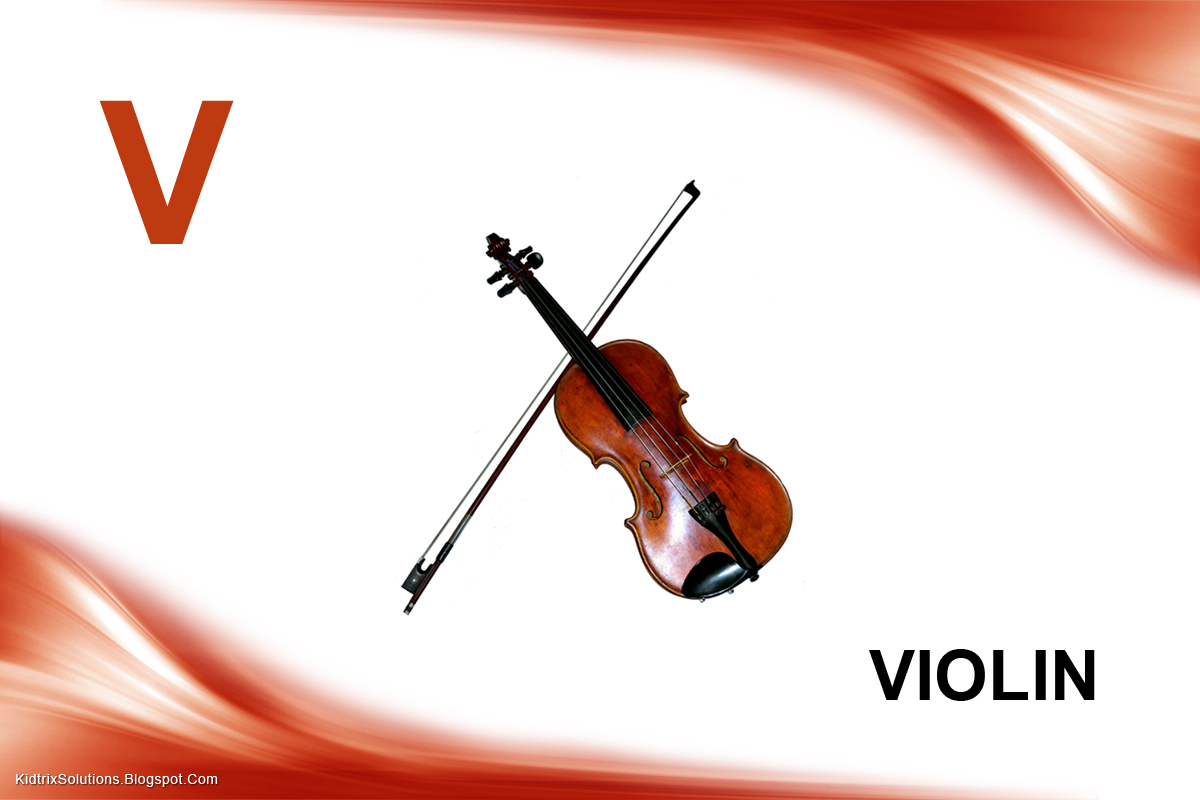 V Is For Violin Kidtrix: ABC - Basic