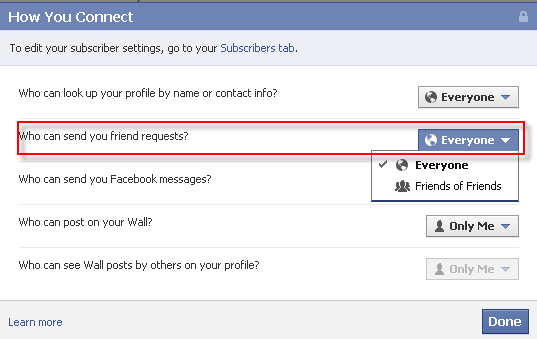 how to send friend requests on zone