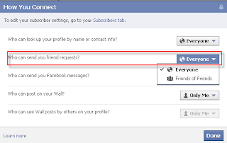 Prevent Facebook Friend Requests from Strangers