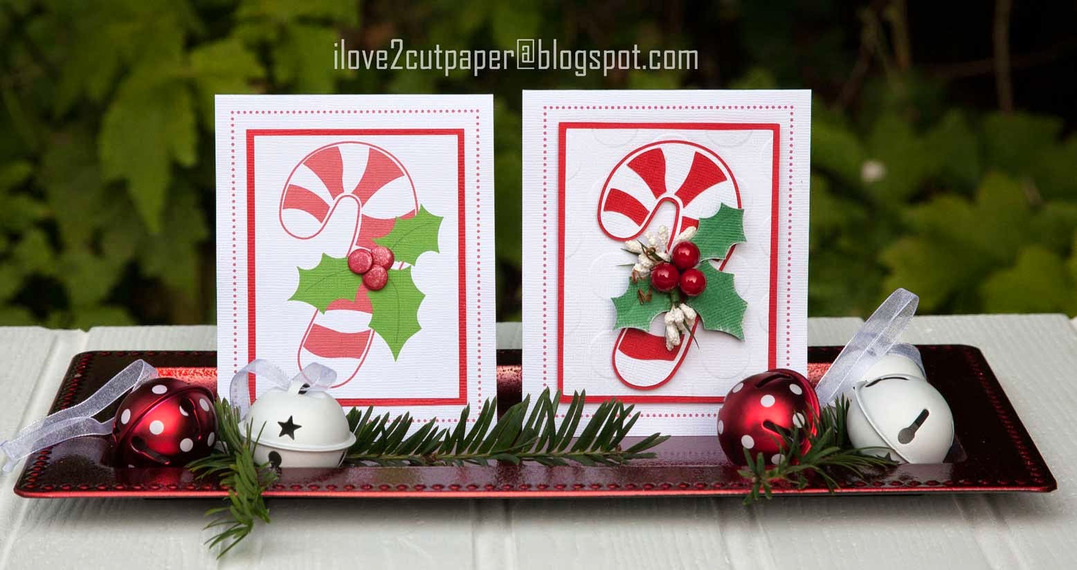 Candy Cane cards - Pazzles Inspiration Vue