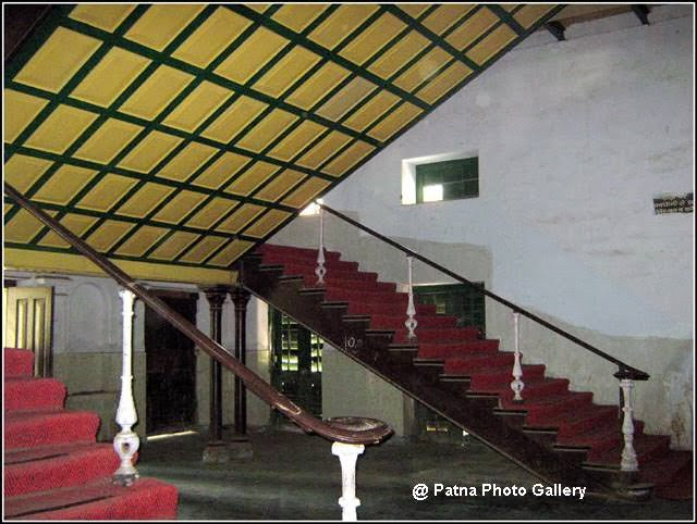 Patna College wooden stairs