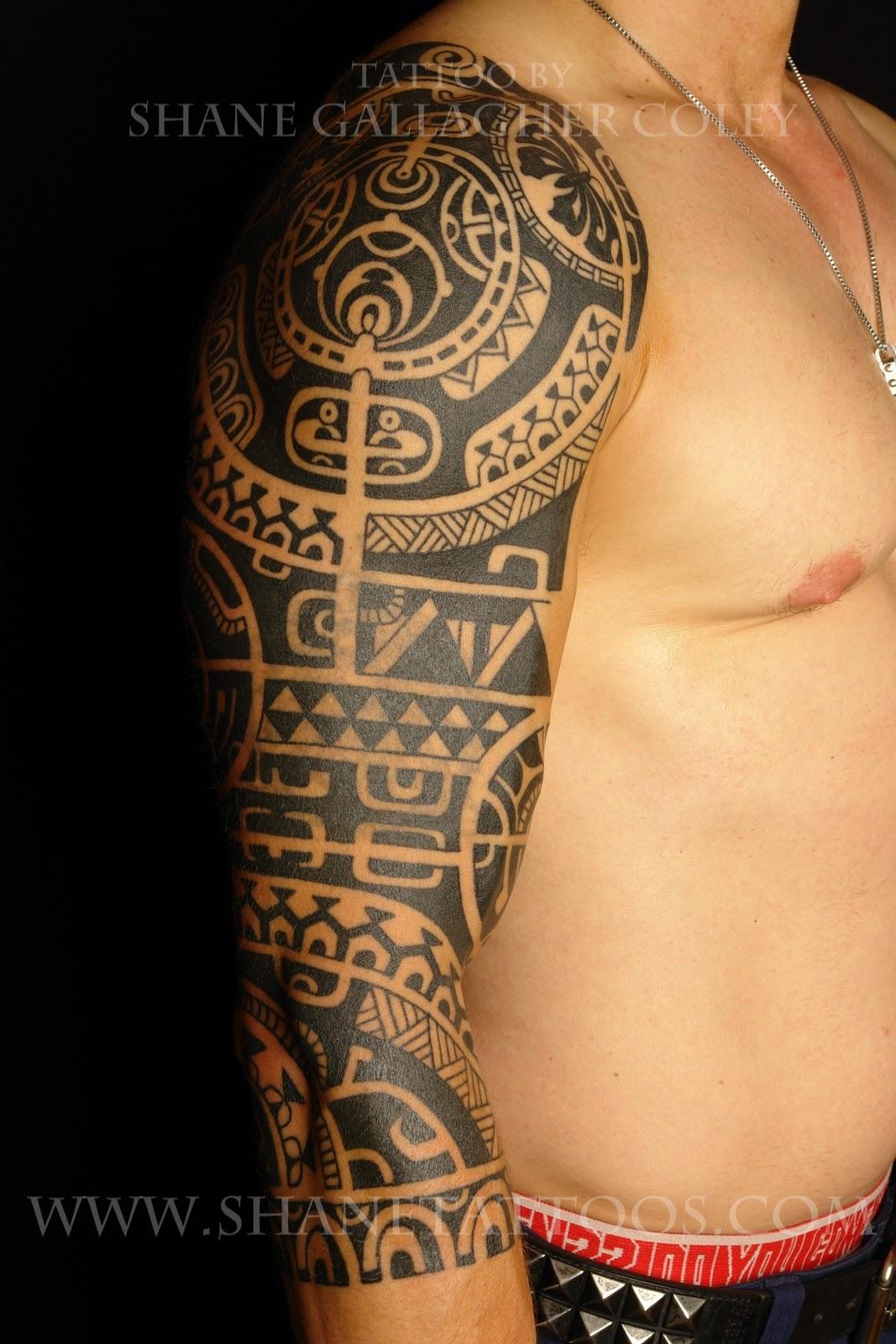 maori polynesian tattoo dwayne the rock johnson inspired tattoo on yves still in progress. Black Bedroom Furniture Sets. Home Design Ideas