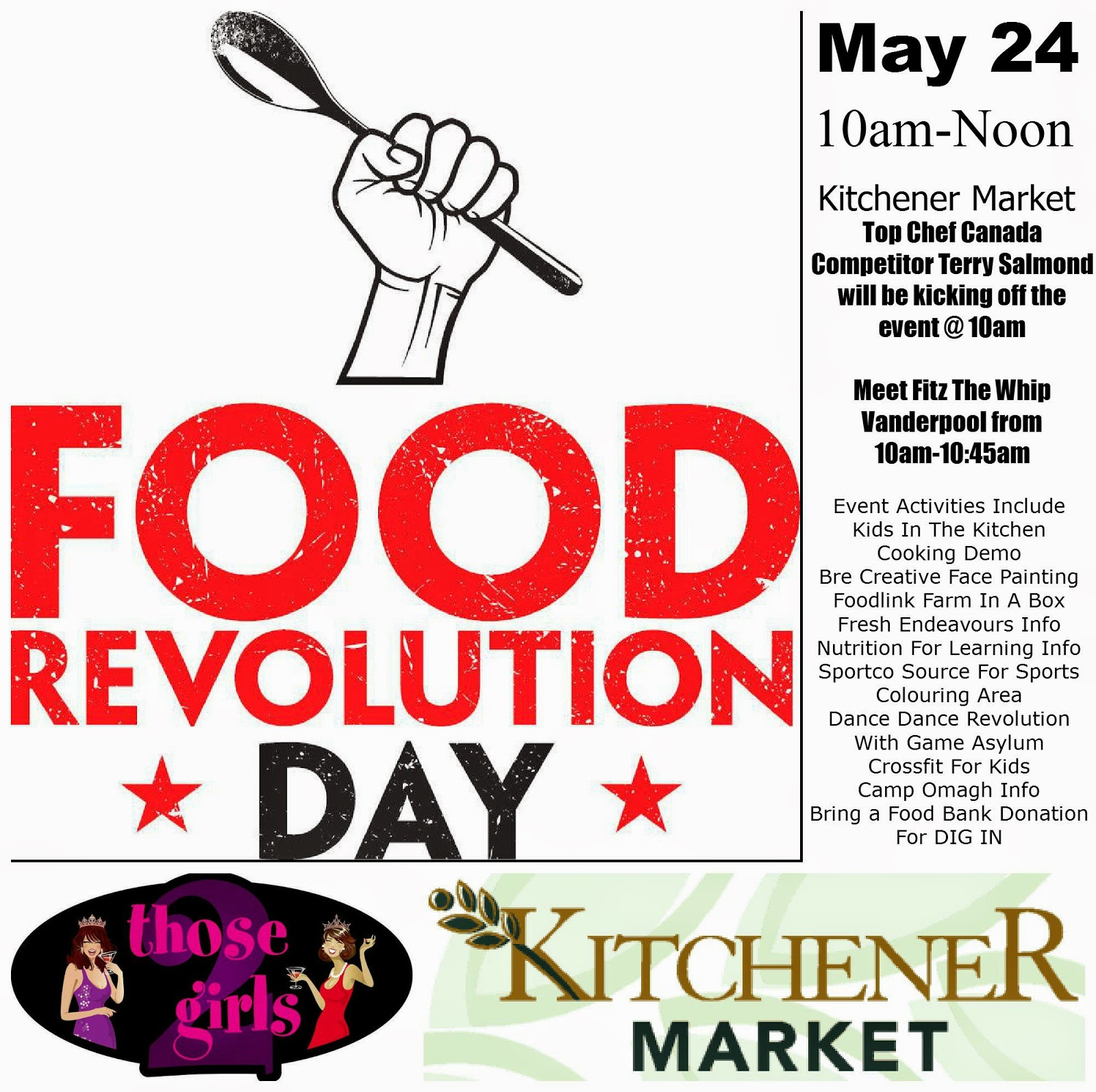 Stuff to do with your kids in Kitchener Waterloo: Food Revolution ...