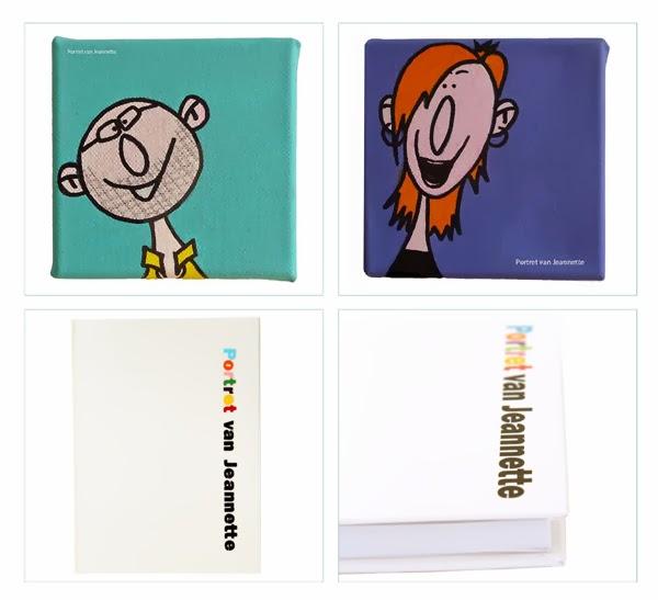 Prien Personalized Notebooks Portret van Jeannette