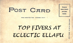 "I was one of the ""Top Fivers"" in Eclectic Ellapu's Baby Card Challenge March 2013"