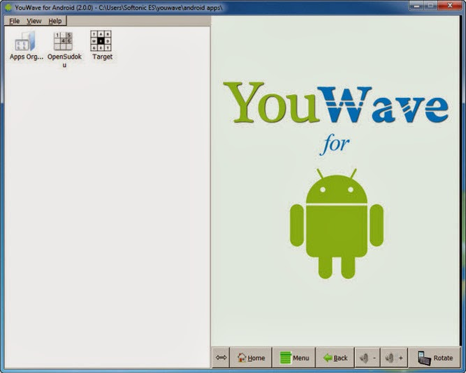 Emulator Android, youwave