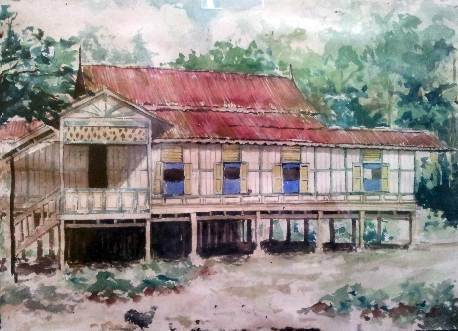 koleksi : rumah tradisional melayu